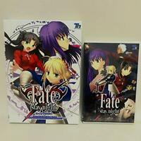 Fate Stay Night Normal ver. PC Windows Game TYPE-MOON CD-ROM Anime Japan
