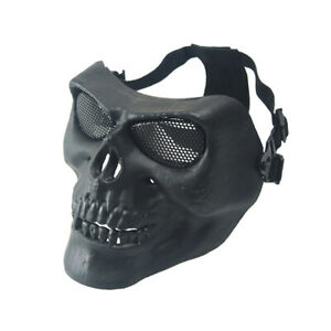 Halloween Military Tactical Face Protection Mask Sports Horror Skull Mask Props