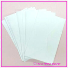 11B Matt Hammer Textured White Envelopes - Pack of 25
