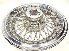 "Pontiac 1982 - 1987 Parisienne Bonneville 15"" Wire Wheel Styled Hubcap RWD Cover"
