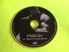 P90X Fitness DVD Back & Biceps extreme workout replacement disc