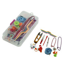 Knitting Accessory Supply Set Basic Tools + Case Lots pcs