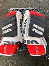 Vic 235 Hockey Gloves - Red, White & Black (Pre-owned)