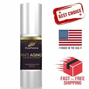 New Anti Aging Cream Luxury Skin Care Pure Treatment Face Neck Wrinkle Age 1 Oz