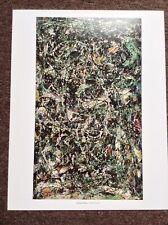 A4 Five stitches Jackson Pollock 1947 Poster Canvas Picture Art Print PremiumA0