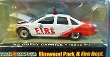 RACING CHAMPIONS 92 1992 CHEVY CAPRICE FIRE CAR ELMWOOD PARK ILLINOIS CHEVROLET