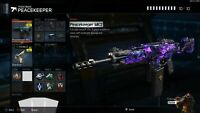 Bo3 PS4 Level 1000 modded PEACEKEEPER Classes