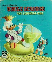 Vintage Whitmas Top Top Tales UNCLE SCROOGE LEMONADE KING Carl Barks