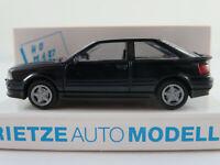 Rietze 10430 Audi Coupé S2 (1990-1996) in dunkelblau 1:87/H0 NEU/OVP