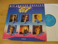 LP Various Die grossen Erfolge 87 Tino Regina Thoss Vinyl Amiga DDR 8 56 323