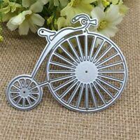 Penny farthing bicycle cutting die set, cardmaking, scrapbooking