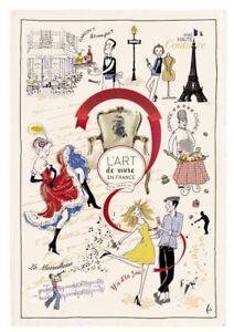 Torchons & Bouchons Art de Vivre Kitchen/Tea/Bar Towel From France New