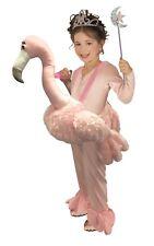 Child Ride-A- Flamingo Animal Costume One Size