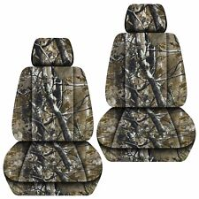 Fits 2007-2018 ISUZU D-MAX  front set car seat covers CAMOUFLAGE