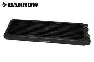 Barrow Dabel-A Series 360mm (3x120) Slim Line Copper Radiator - Black