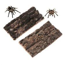 Natural Rodent Reptile Habitat Climbing Tree Bark Platform For Lizard Spider