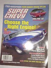 Super Chevy Magazine 12 Hot Engine Combos December 2005 030517NONRH