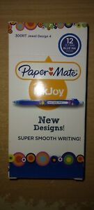 Papermate InkJoy 300RT 12 Pack Blue Jewel Design 4