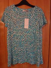 M & S Per Una T-shirt con peplo taglia 10 NUOVO CON ETICHETTA