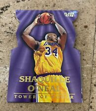 SHAQUILLE O'NEAL 1997-98 Fleer Tower of Power #8 Card Los Angeles Lakers