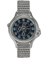 Fendi Crazy Carats 38mm Black Dial Quartz Ladies Watch - F105031000T04
