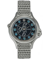 Fendi Crazy Carats 38mm Black Dial Quartz Ladies Watch - F105031000T04