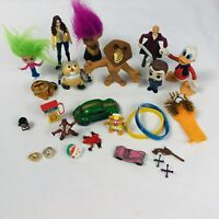 Junk Drawer Toy Lot Christmas Stocking Stuffers New And Vintage Trolls Disney