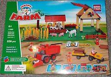 Farm 8 in 1 BricTek Building Block Construction Toy Brick 11805