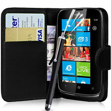 WALLET FLIP PU LEATHER CASE COVER POUCH FOR NOKIA LUMIA 532 MOBILE PHONE