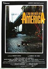 C'era una volta in America Poster Film Ristampa Originale Italiano 70x100cm