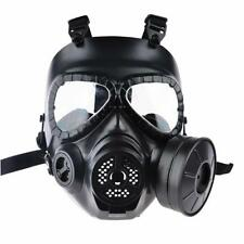 CS Airsoft Paintball Dummy Gas Mask with Fan for Cosplay Protection Halloween