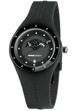 "New MOMO DESIGN ""Mirage Moon Phases""  Women's Quartz Watch MD3006-FL-BK11"