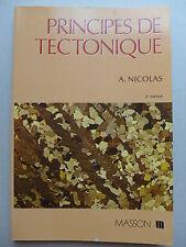 Adolphe Nicolas - Principes de tectonique