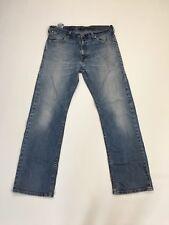 """Men's LEVI 506 """"collait"""" Jeans-W32 L30-Faded Bleu Marine-Très bon état"""