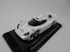 Porsche 911 GT1 Strassenversion 1/43 Voiture IXO Supercars Edition Italienne S60