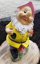 Zwerg Gartenzwerg Gnome Schaufel 25cm
