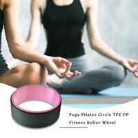 Yoga Circle Waist Shape Bodybuilding Pilates Fitness Back Training Wheel