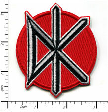 "DEAD KENNEDYS DK logo punk band embroidered iron on patch 3""x3"""