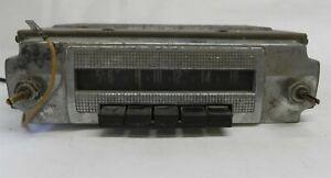VINTAGE 1957-1958 DODGE RADIO MOPAR #845 MISSING KNOBS UNIT IS UNTESTED