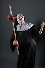 Demonic Sister LIfe Size Haunted House Halloween Horror Prop - The Walking Dead
