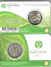 2 Euro Gedenkmünze 2020 Belgien Internationales Jahr der Pflanzengesundheit