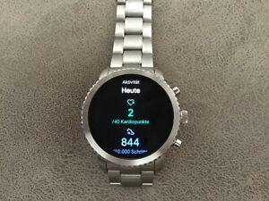 Fossil Q Explorist 3. Generation 44mmHerren Smartwatch wie neu in ovp