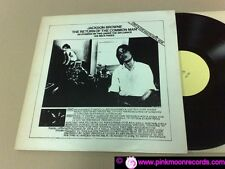 JACKSON BROWNE THE RETURN OF THE COMMON MAN 1976 TAKRL 1993 US LP