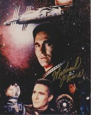 Babylon 5 Cmdr Sinclair Michael O'Hare collage photo hand signed