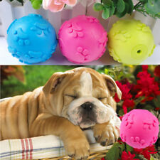 Aggressive Chew Toys for Dogs Indestructible Rubber Squeaker Sound Squeaky Ball