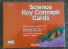 Set of 82 Science Key Concept Cards for Grade 3 MacMillan/McGraw-Hill Brand New