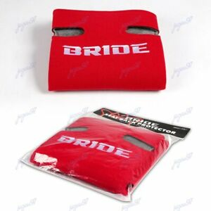 X1 JDM Red Racing Seat Protector Cover Pure Cotton Seat Dust Boot for Bride New