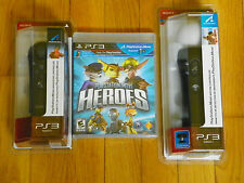PlayStation Move Heroes(Sony Play..3, 2011) Move Motion & Navigation Controllers