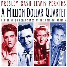 ELVIS PRESLEY/JERRY LEE LEWIS/JOHNNY CASH/THE MILLION DOLLAR QUARTET/CARL PERKIN