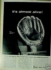 1968 Regent Big Baseball Gloves Pennant Winner Model 5900 Mitt Sports Paper Ad